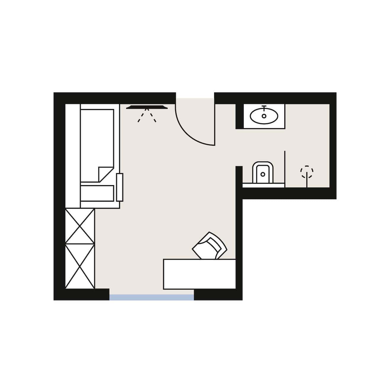 Komfort Malfon Room Sketch